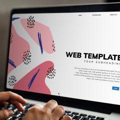 יתרונות וחסרונות בעיצוב אתר בטמפלט